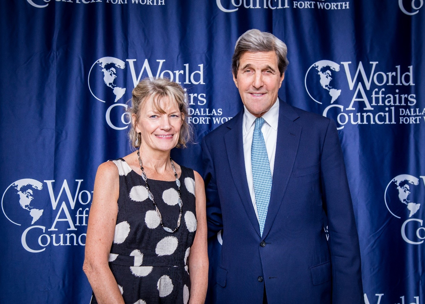 Dr. Rasmussen with John Kerry